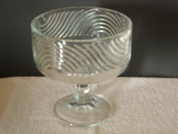 Vintage E.O. Brody Cleveland Ohio Glass Compote Dish - FayZen's Kreations