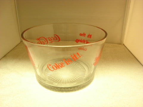 1980s Coca Cola Collectible Snack Bowl - FayZen's Kreations