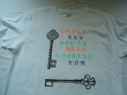 """I'm The Key You've Been Looking For"" Handcrafted Unisex T-Shirt - FayZen's Kreations"