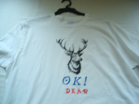 """OK Dear"" Hand Crafted Men's T-Shirt"