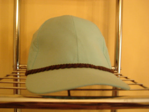 Brown Scalloped Trim Baseball Hat - FayZen's Kreations