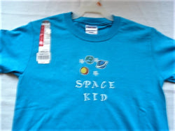 """Space Kid"" Youth Hand Crafted T-Shirt - FayZen's Kreations"