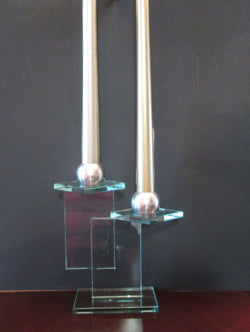 Contemporary Geometric Design Candle Holder - FayZen's Kreations