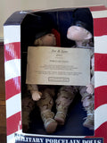 Jane & Joe Porcelain Military Dolls  2004 Special Edition - FayZen's Kreations