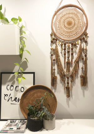 Clay - Coffee Brown Dreamcatcher