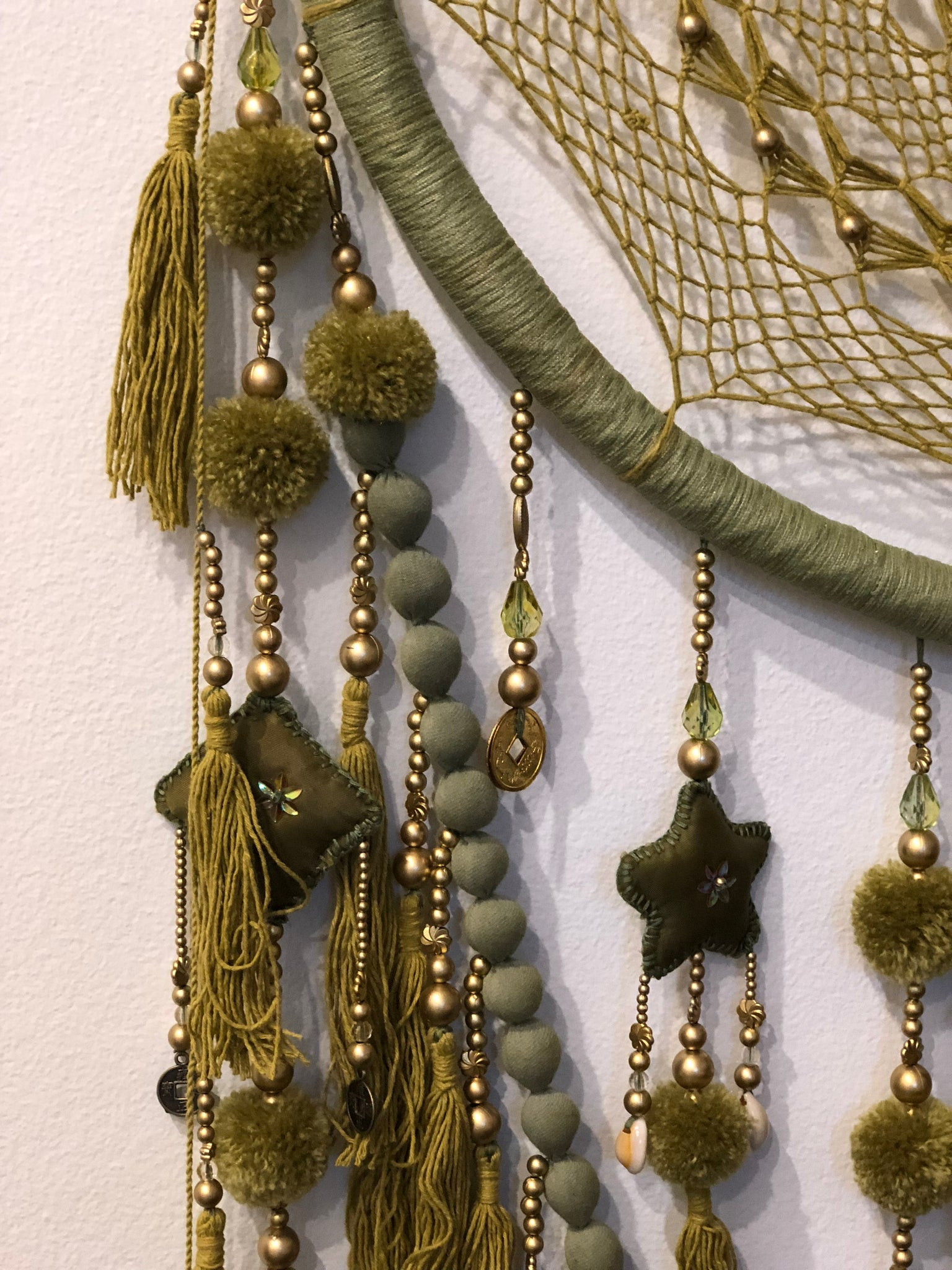 Moss - Khaki Green Dreamcatcher