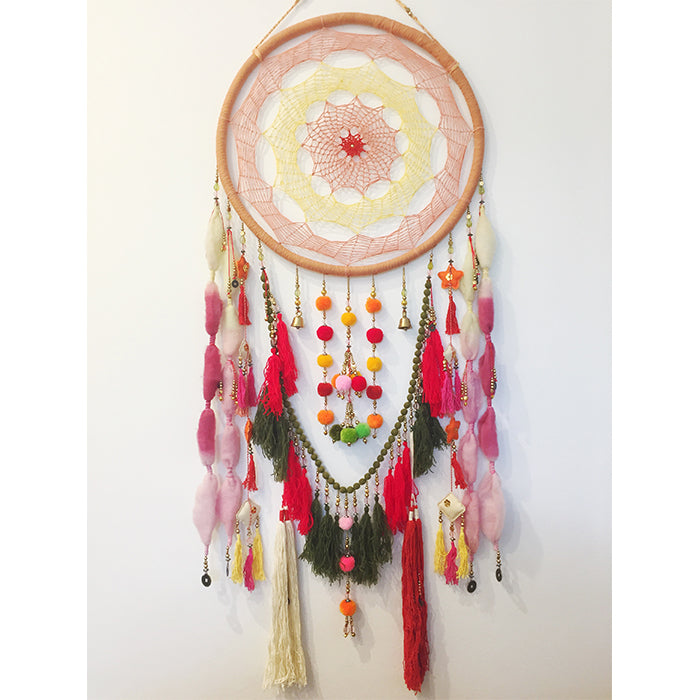 Chase the Sun - Multicolour Dreamcatcher