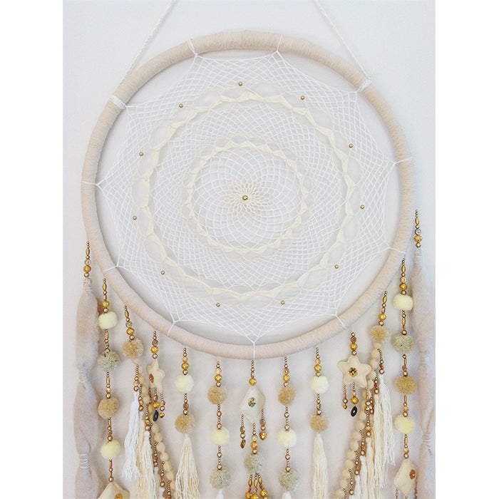 Vanilla Kisses - Cream Dream Catcher