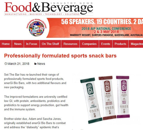 Food & Beverage March 2018