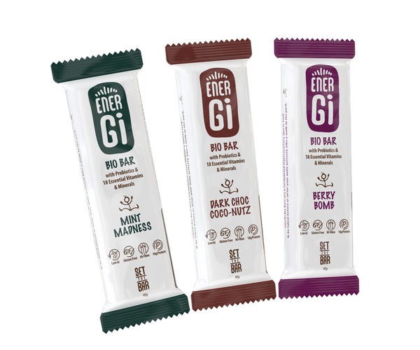 enerGi Bio Bar - Sample Trio