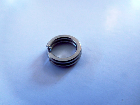 100 Pack of Top Quality Split Rings (6 mm)