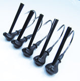 1/2 OZ BLACK TUNGSTEN FLIP/PITCH JIG HEADS (5 Pack)