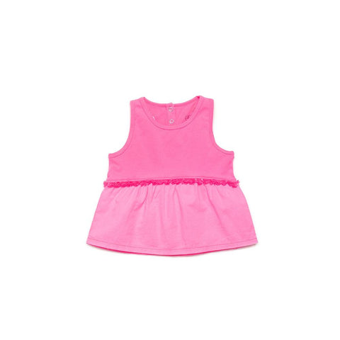 Egg New York Makena top in Hot Pink