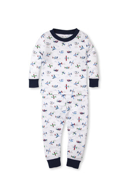 Kissy Kissy Youth Pajama Set - Awesome Airplanes