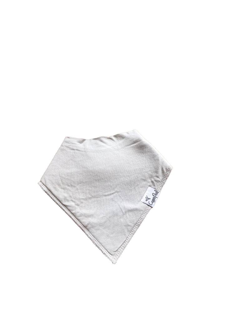 Copper Pearl Bandana Bib-grey