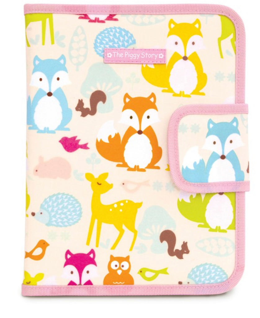Chalk N Marker Art Case-Fox Woodland