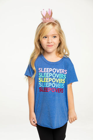 Chaser Sleepovers Recycled Vintage Short Sleeve Tee in Float