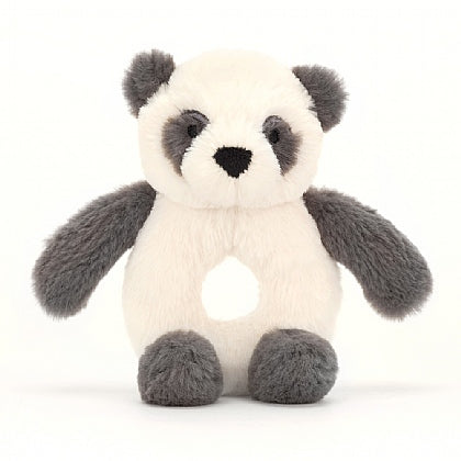 Jellycat Bashful Ring Rattle - Harry Panda
