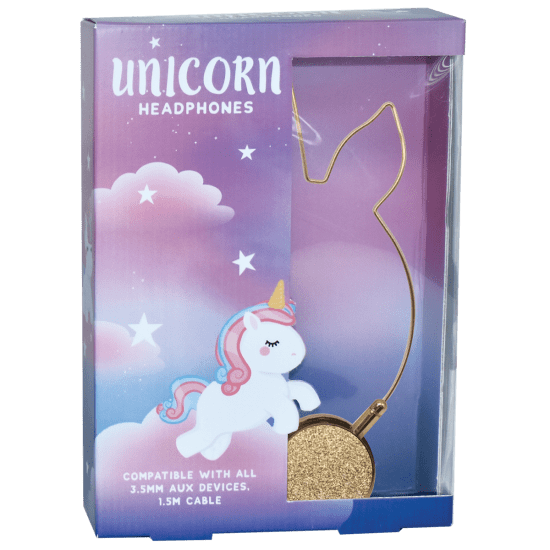iscream Unicorn Glitter Headphones