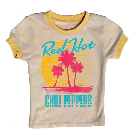 Rowdy Sprout Red Hot Chili Peppers Ringer Tee