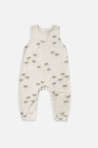 Rylee + Cru Palm Mills Jumpsuit-natural