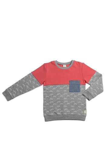 Egg New York Vinnie Sweater-grey print