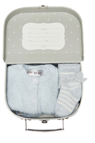 Barefoot Dreams Classic Newborn Set-blue