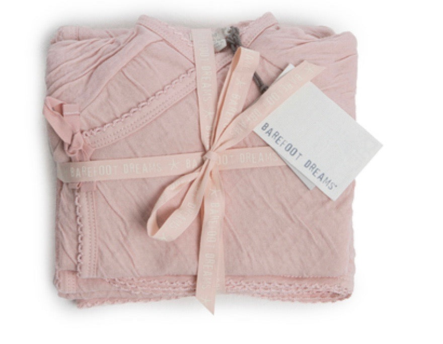 Barefoot Dreams Barefoot Bundle 4-piece set-blush