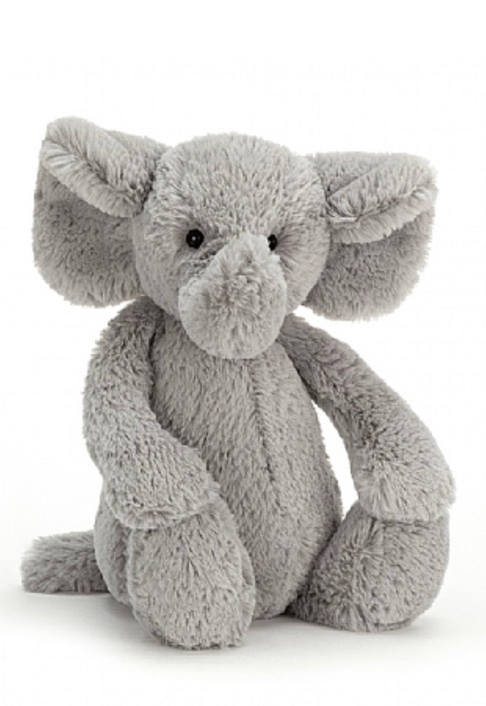 Jellycat Medium Bashful Grey Elephant