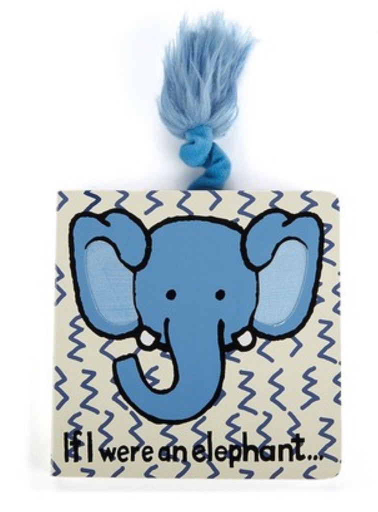 Jellycat If I Were Books - Elephant