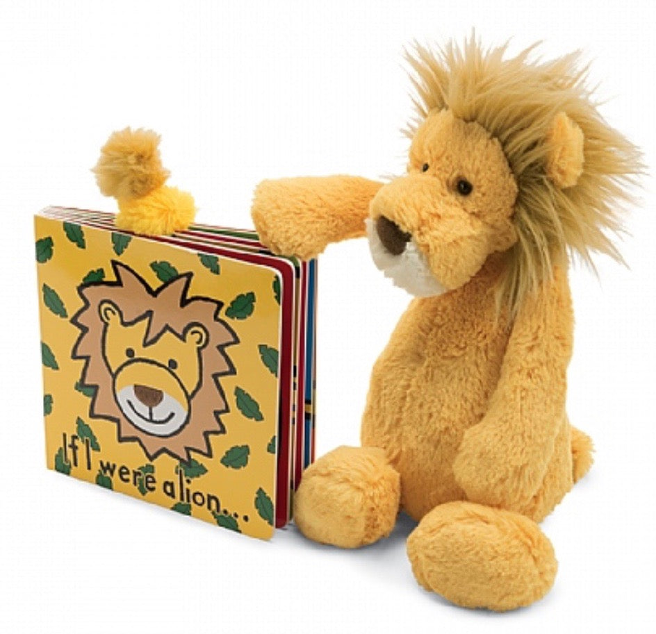 Jellycat If I Were Books - Lion
