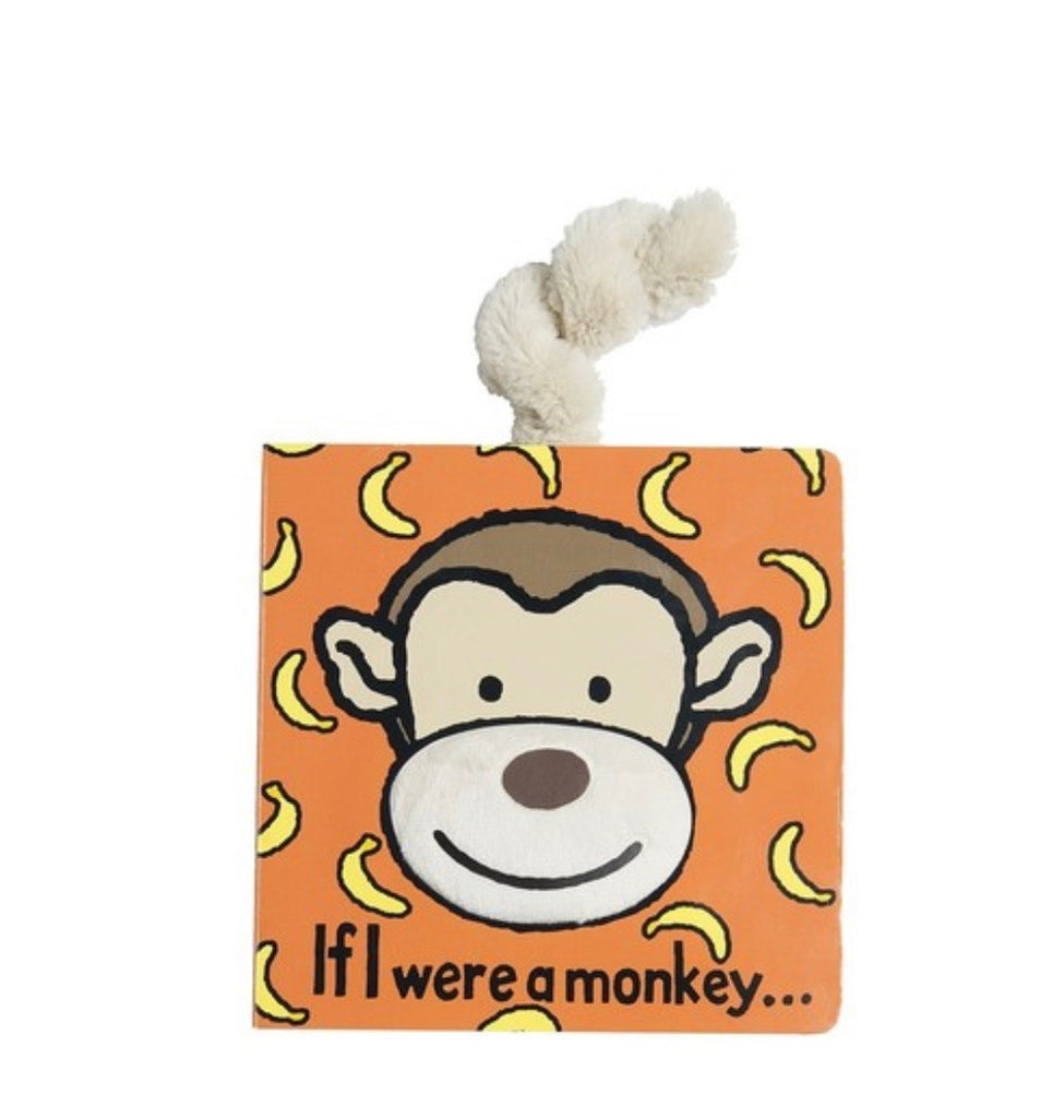 Jellycat If I Were Books - Monkey