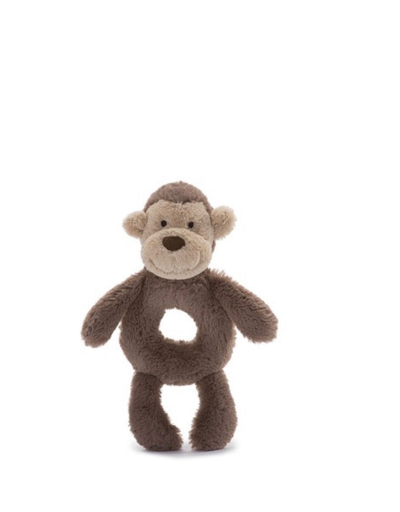 Jellycat Bashful Ring Rattle - Monkey