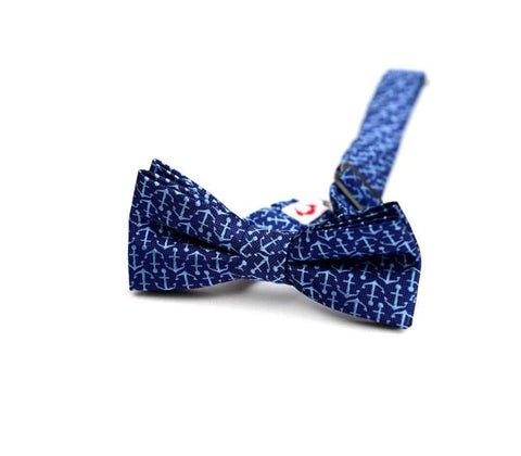 Appaman Bow Tie-blue anchors