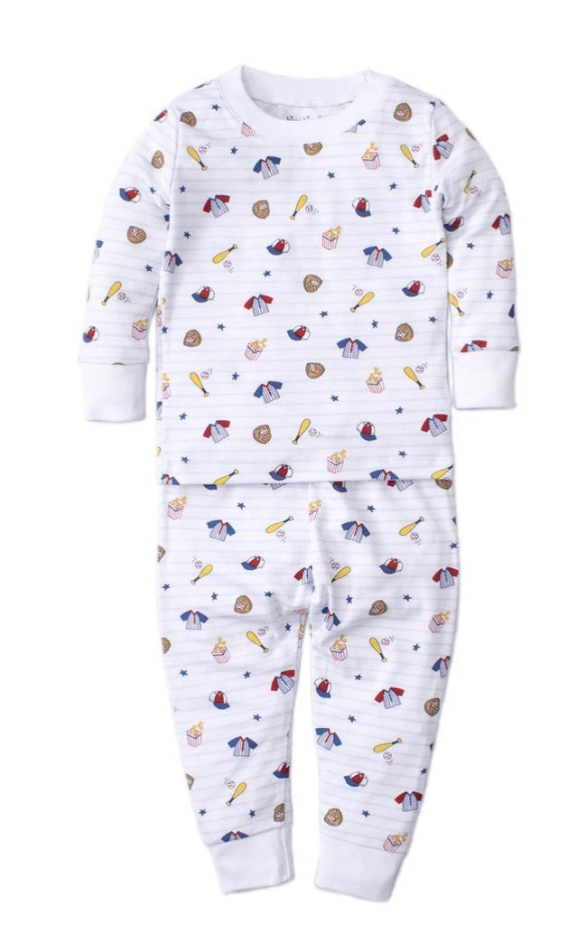 Kissy Kissy  Baby Pajama Set - Ball Park