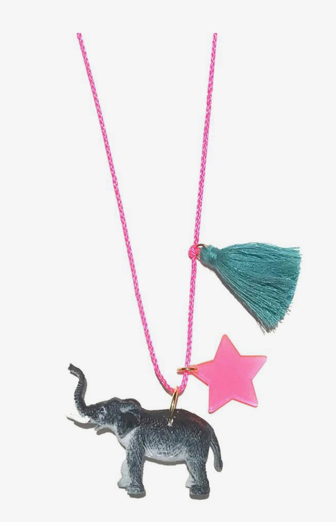 Gunner and Lux Necklace - Elephant
