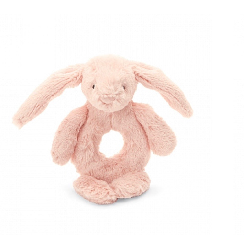 Jellycat Bashful Ring Rattle - Blush Bunny