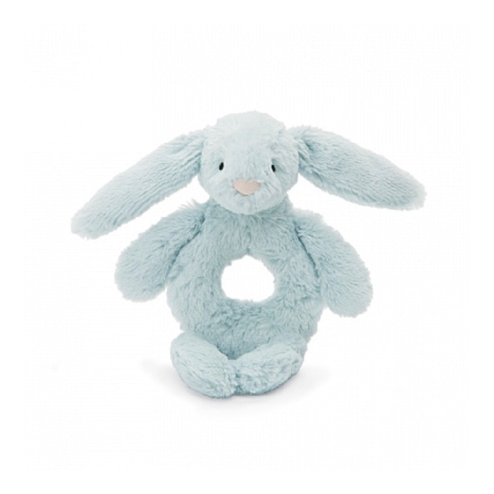 Jellycat Bashful Ring Rattle - Blue Bunny