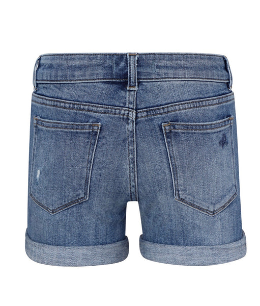 DL 1961 Piper Cuffed Shorts-dorado