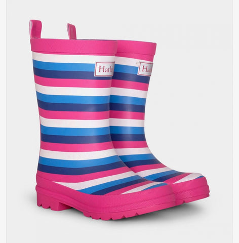 Hatley Summer Stripe Rainboots