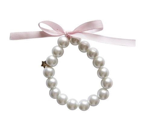 Henny and Coco Pearl Bracelet in Pink