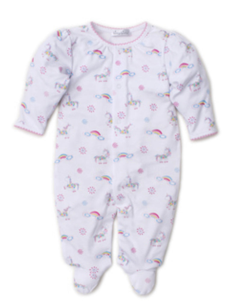 Kissy Kissy Rainbow Unicorn Footie