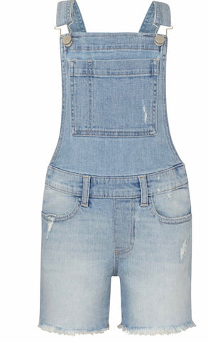 DL 1961 Nors Shorts Overalls in Schaeffer