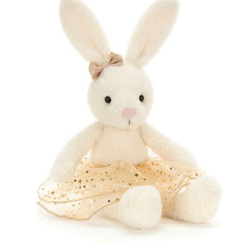 Jellycat Glistening Belle Bunny in Small