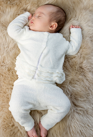Barefoot Dreams Heirloom Cardi and Pant Set-pearl