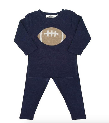oh baby! 2-piece set - Football-navy