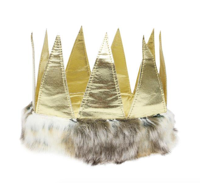 oh baby! Metallic Fur Crown