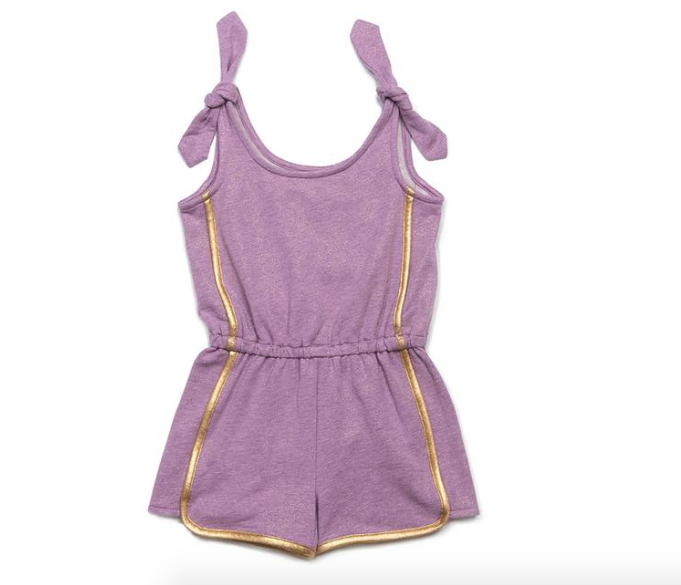 Egg New York Bree Romper-lavender