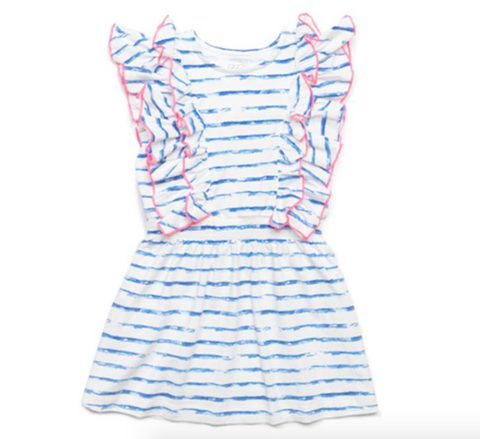 Egg New York Priscilla Dress-blue stripe
