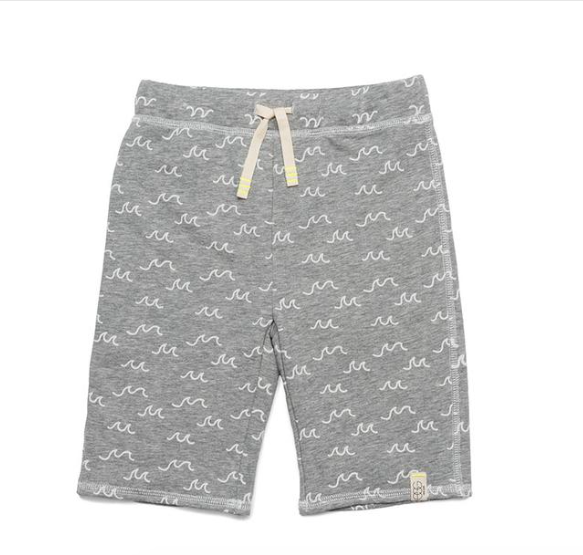 Egg New York Steven Short-grey print